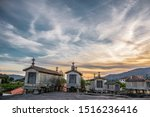 Sunset In The Granaries Of The...