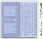 card  invitation  cover... | Shutterstock .eps vector #1516297610