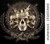 Heavy Lies The Crown King Skull