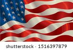 united stated flag. american... | Shutterstock .eps vector #1516397879