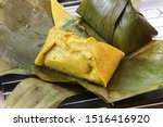thai traditional food  steamed... | Shutterstock . vector #1516416920