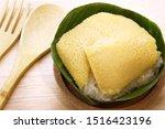thai dessert style  sweet... | Shutterstock . vector #1516423196