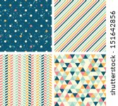 seamless patterns | Shutterstock .eps vector #151642856
