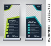 corporate rollup or x banner...   Shutterstock . vector #1516617536