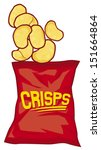 Potato Chips Bag  Potato Crisp...