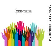 hands vector | Shutterstock .eps vector #151670066