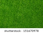 artificial grass field top view ... | Shutterstock . vector #151670978