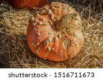 Warty Decorative Orange Ugly...