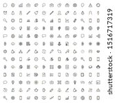 line icon set. collection of...   Shutterstock .eps vector #1516717319