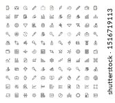 save money icon set. collection ... | Shutterstock .eps vector #1516719113