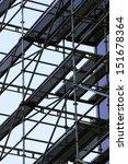 scaffolding | Shutterstock . vector #151678364