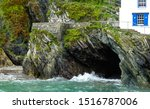 Granite Rock Formation  With...
