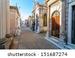 recoleta cemetery  the most... | Shutterstock . vector #151687274