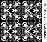 black and white geometric... | Shutterstock .eps vector #1516888346