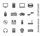 computer icons | Shutterstock .eps vector #151691660