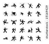 logos of sports  olympics... | Shutterstock . vector #15169429