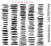grungy hand made vector brush... | Shutterstock .eps vector #1517037446