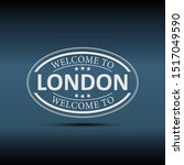 welcome to london united...   Shutterstock .eps vector #1517049590