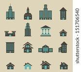 building set   color | Shutterstock .eps vector #151706540