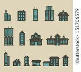 building set   color | Shutterstock .eps vector #151706579