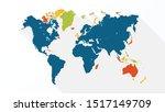 colorful stylish   beautiful... | Shutterstock .eps vector #1517149709