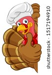 Chef Turkey Thanksgiving Or...