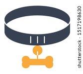 animal collar vector icon design | Shutterstock .eps vector #1517198630