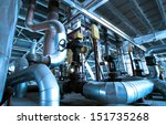 industrial zone  steel... | Shutterstock . vector #151735268