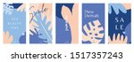 a set of five stories templates ... | Shutterstock .eps vector #1517357243