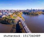 Autumn Aerial Photo Of Ottawa...