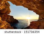 into the grotto. nature... | Shutterstock . vector #151736354