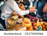 Selection Of Dutch Cheese At...