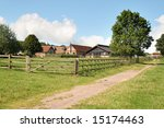 An English Country Farm With A...