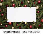 christmas or new year... | Shutterstock . vector #1517450840