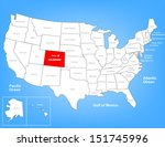 vector map of the united states ... | Shutterstock .eps vector #151745996