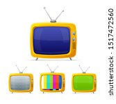 different tv with color screen...