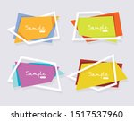 vector banners flat design  can ...