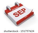 3d illustration calendar of... | Shutterstock . vector #151757624