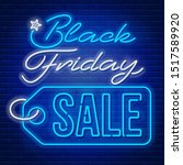 advertisement of black friday... | Shutterstock .eps vector #1517589920