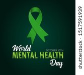 world mental health awareness... | Shutterstock .eps vector #1517591939