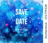 save the date for personal... | Shutterstock .eps vector #151759328