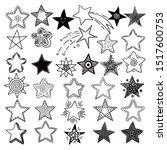 Stars. Space Symbols Planets...