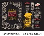 burger menu template for... | Shutterstock .eps vector #1517615360