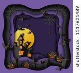 Black And Purple Halloween...