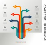 infographic design template... | Shutterstock .eps vector #151765910