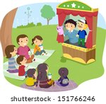 illustration of a stickman... | Shutterstock .eps vector #151766246