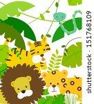 animals | Shutterstock .eps vector #151768109