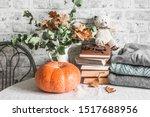 Autumn Cozy Home Still Life....