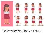 set of children character... | Shutterstock .eps vector #1517717816