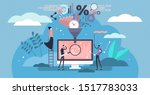 data filter vector illustration.... | Shutterstock .eps vector #1517783033